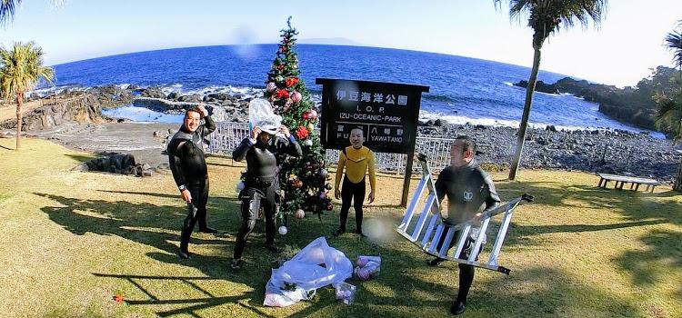11月のRIZEダイビングサービスと伊豆海洋公園
