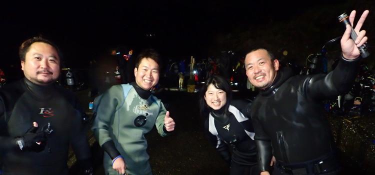 伊豆海洋公園大晦日ナイトダイビング開催のお知らせ!