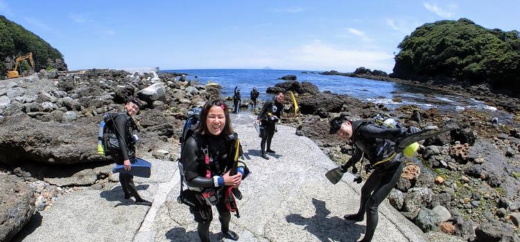 週末は伊豆海洋公園、菖蒲沢、雲見でダイビング!