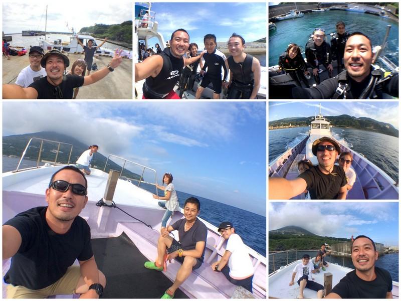利島ドルフィンスイム+ボートダイビング@1DAYトリップ!