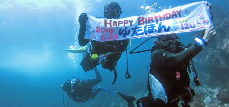 透明度復活!最高過ぎる伊豆海洋公園でダイビング!