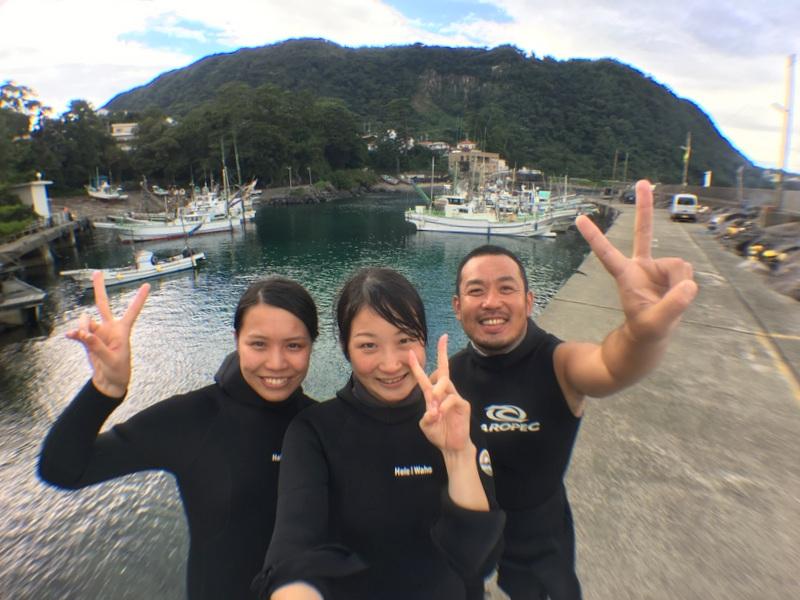 穏やかな海がいいよね。富戸でダイビングでした!