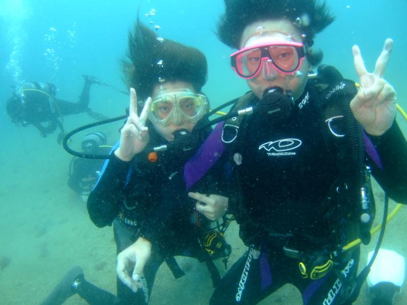 黄金崎公園でのんびりダイビング!