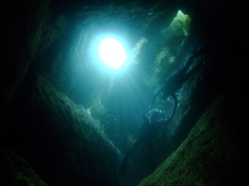 雲見でピカチューゲットだぜ!洞窟探検ダイビング!