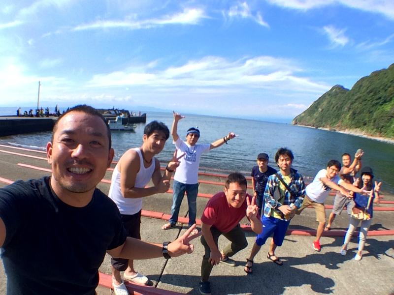 井田,ダイビング