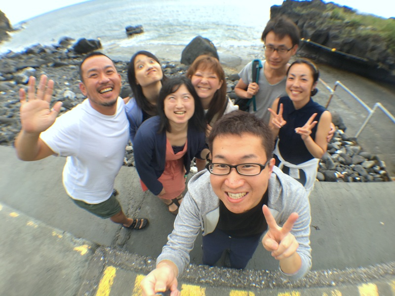 伊豆海洋公園でキビナゴの渦に突っ込む!