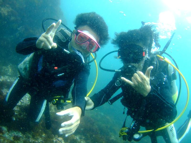 伊豆海洋公園で体験ダイビング!
