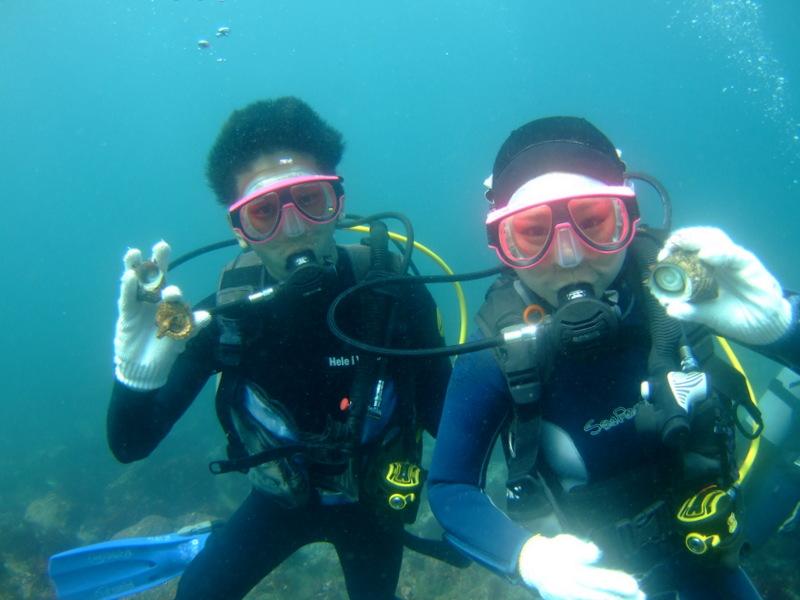 富戸で体験ダイビング!