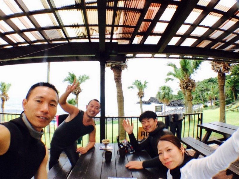伊豆海洋公園でダイビング