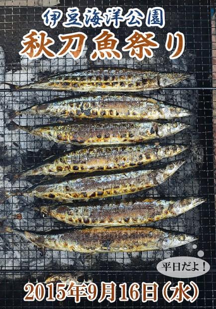 伊豆海洋公園秋刀魚祭り!